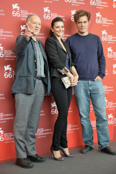 GIULIA MARLETTA PHOTO CALL WITH WERNER HERZOG AND MICHAEL SHANNON – PRESS CONFERENCE