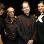Giulia Marletta with Asia and Dario Argento. Premiere after party. Toronto 2007